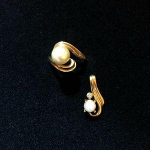 Gold & Pearl Set